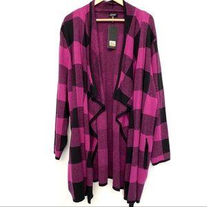 Jones New York 3X Kimono Style Sweater
